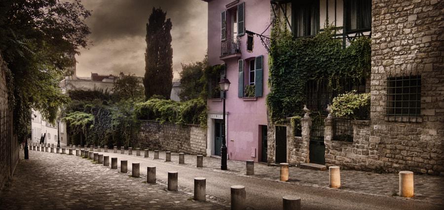 Street of Montmartre