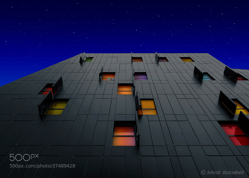 Photograph Colors in the night by David Duchens on 500px