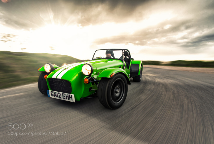 Photograph 40 Years of Caterham 7 by Richard Pardon on 500px