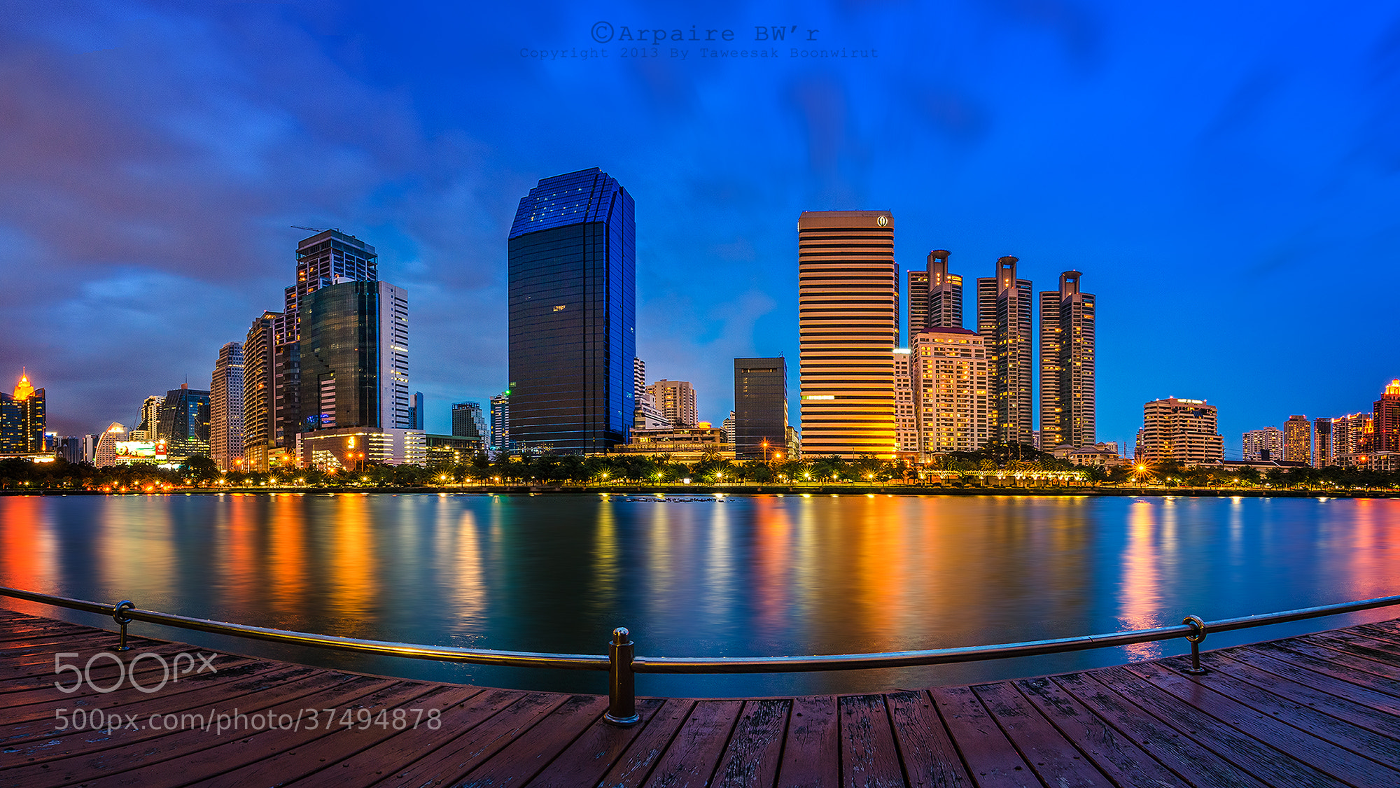 Photograph Bangkok City by Taweesak Boonwirut on 500px