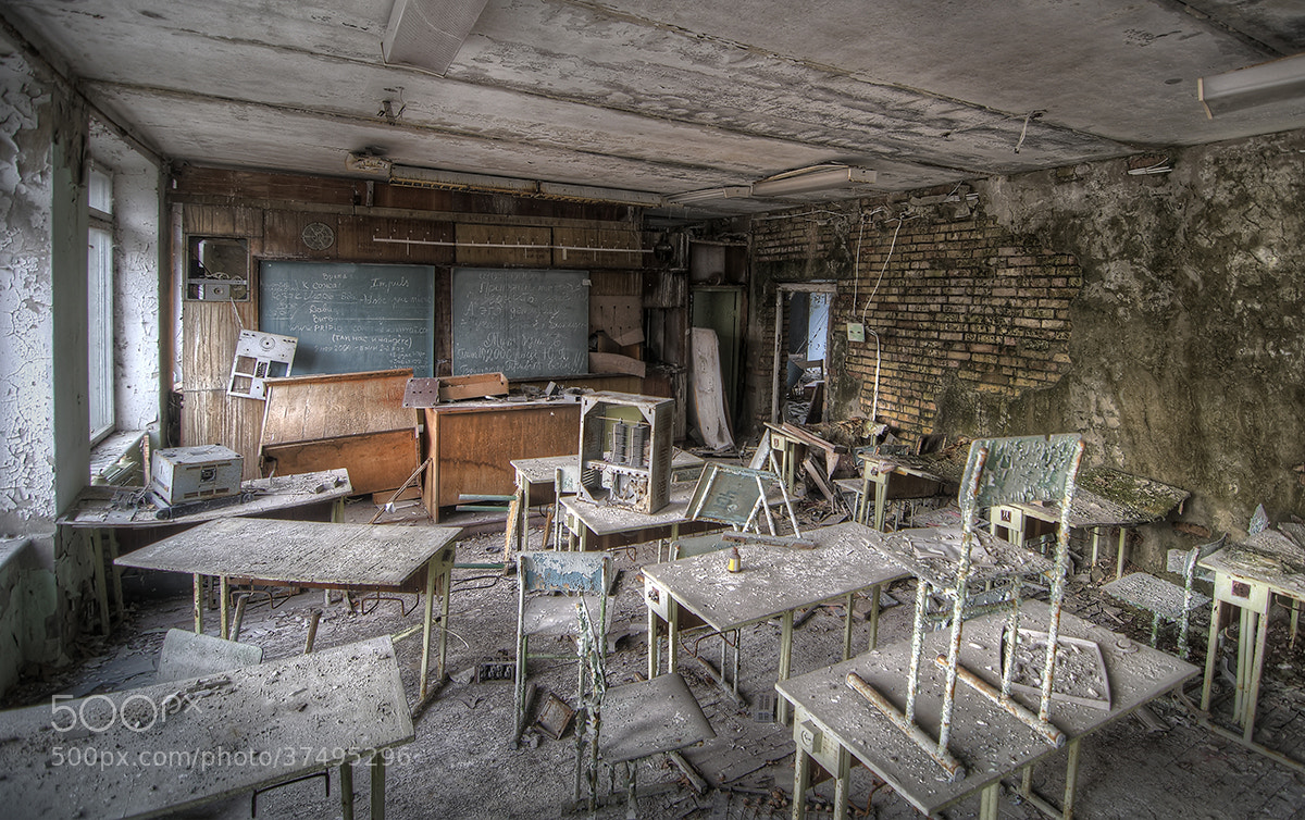 Photograph Lost Classroom by Niki Feijen on 500px