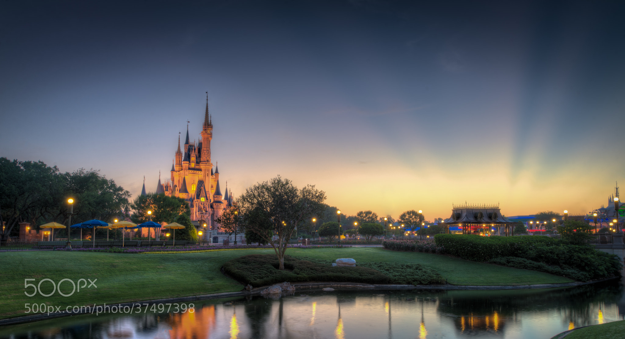 Photograph Magic Kingdom: Wake Up Cindy! by Andreas Helbig on 500px