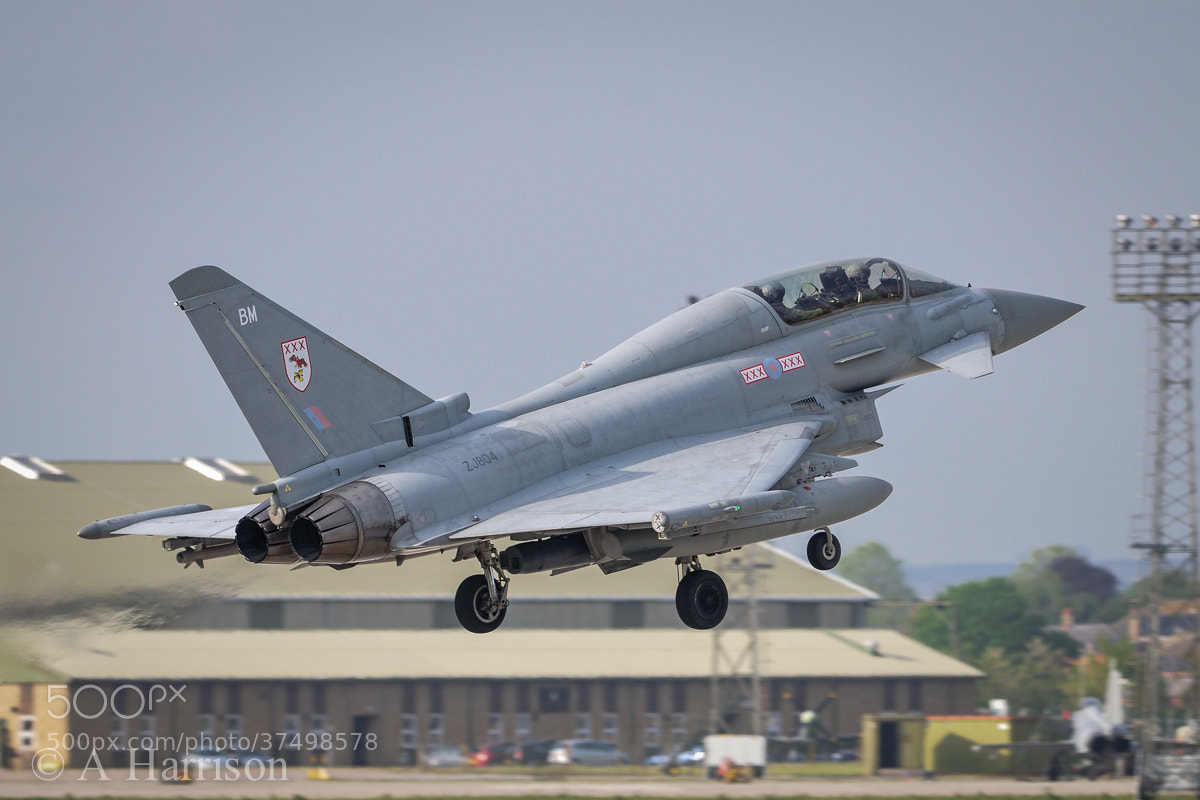 Photograph Eurofighter Typhoon by Adrian Harrison on 500px