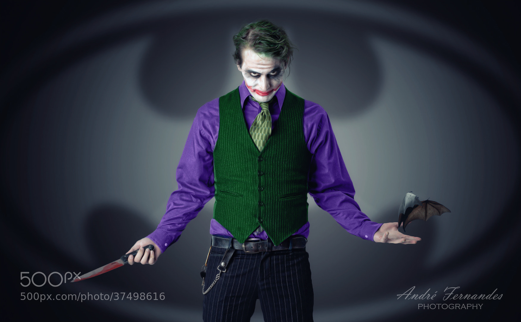 Photograph The Joker by André Fernandes on 500px