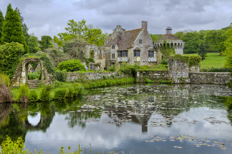 The old Scotney Castle