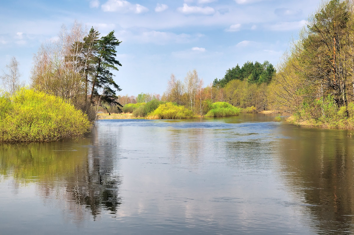 Photograph The river Pra in the spring - 2 by Sergey Lopukhov on 500px