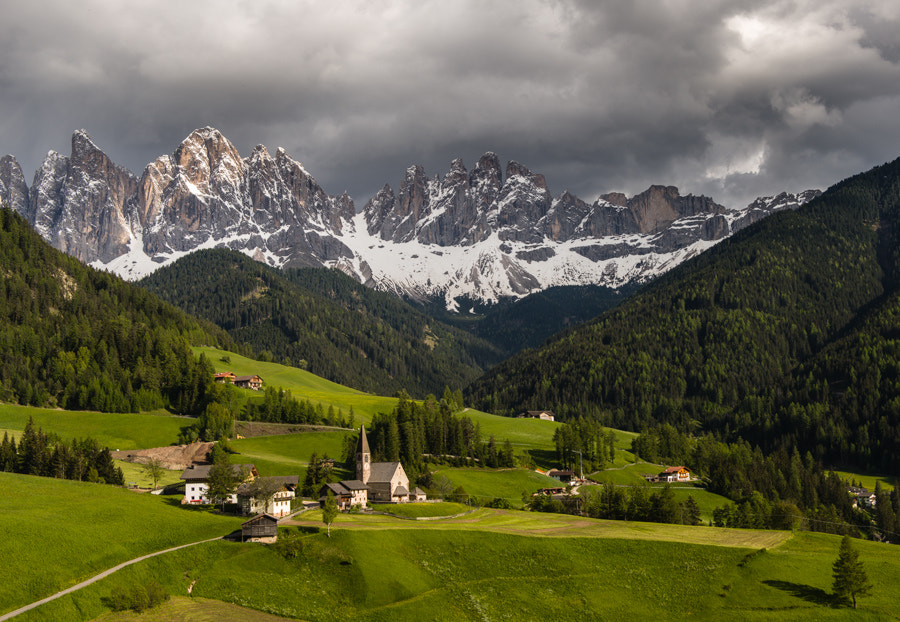 Photograph Santa Maddalena in afternoon light by Hans Kruse on 500px