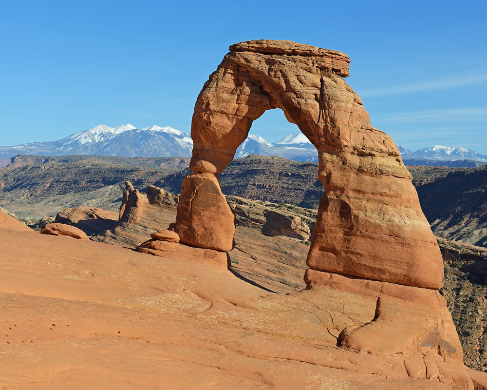Photograph delicate arch by Christian Alpert on 500px