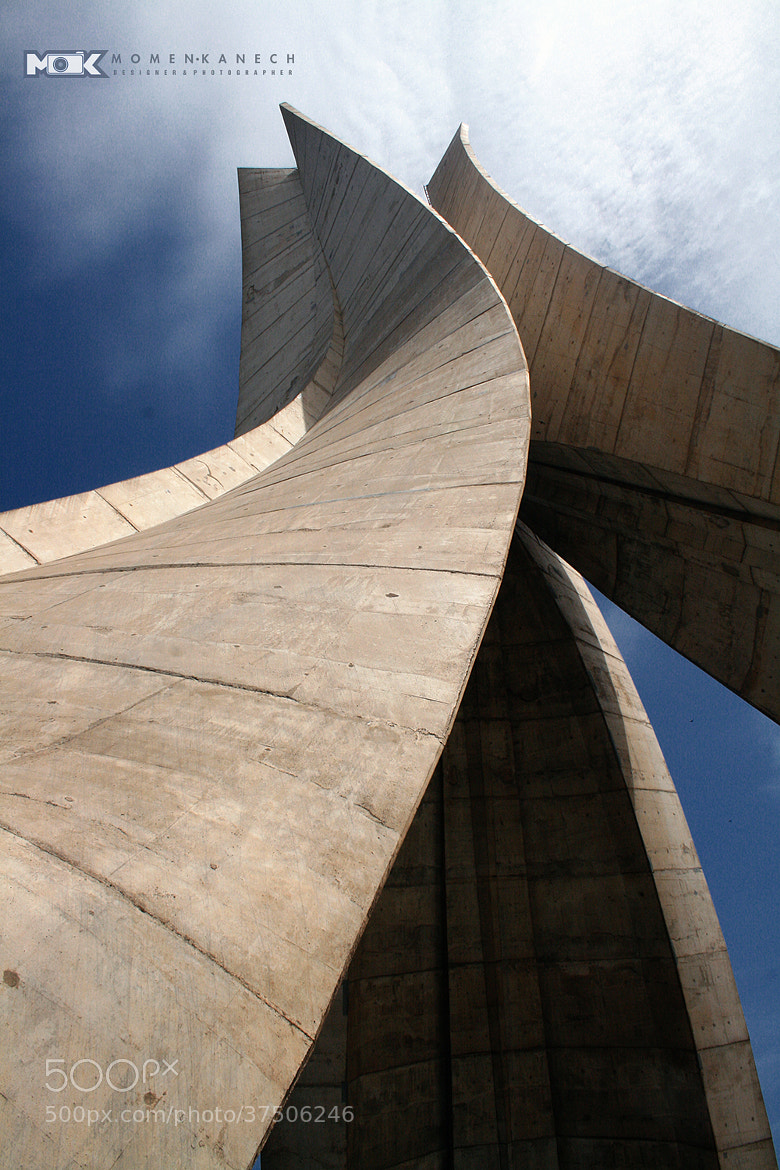 Photograph Martyrs Memorial Algiers by Momen Kanech on 500px