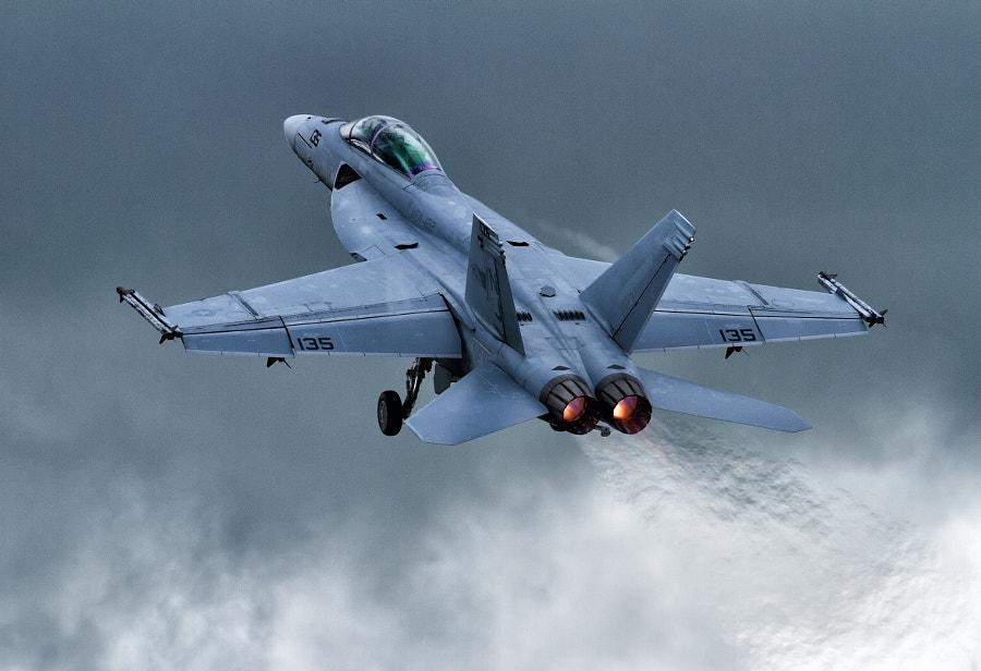 F18 Super Hornet @ RIAT 2012