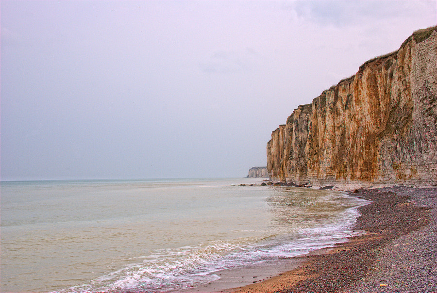The cliffs of Normandy
