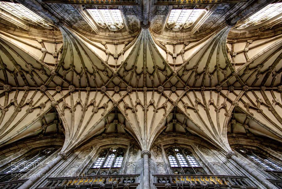 Photograph Winchester Cathedral by David Henderson on 500px