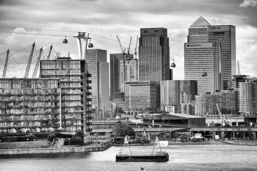 View from Royal Victoria Dock