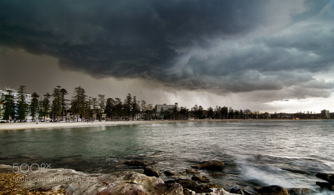 Photograph Manly Storm by Nathan Kaso on 500px