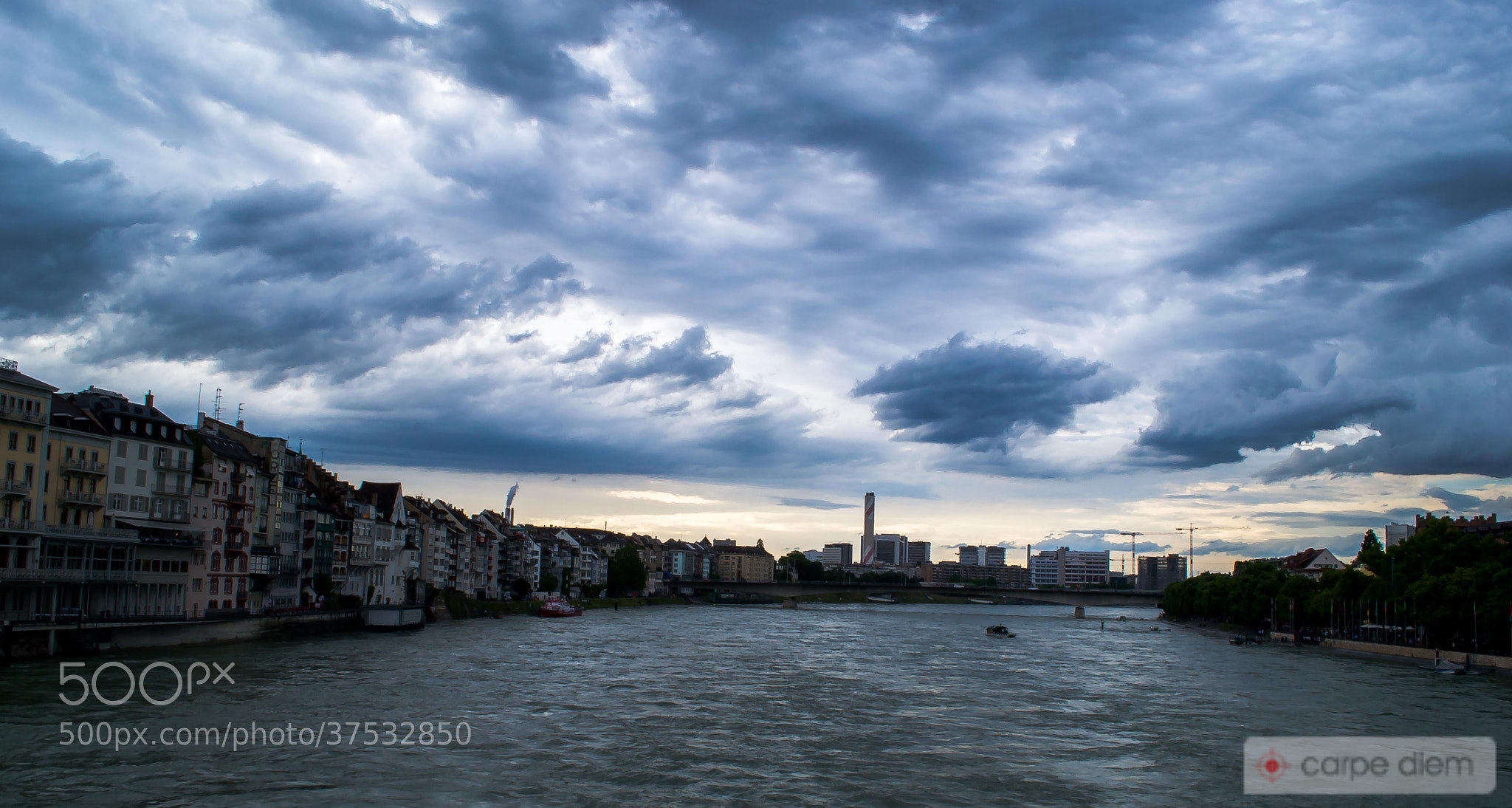 Photograph The Rhein by Saurabh Ganguli on 500px
