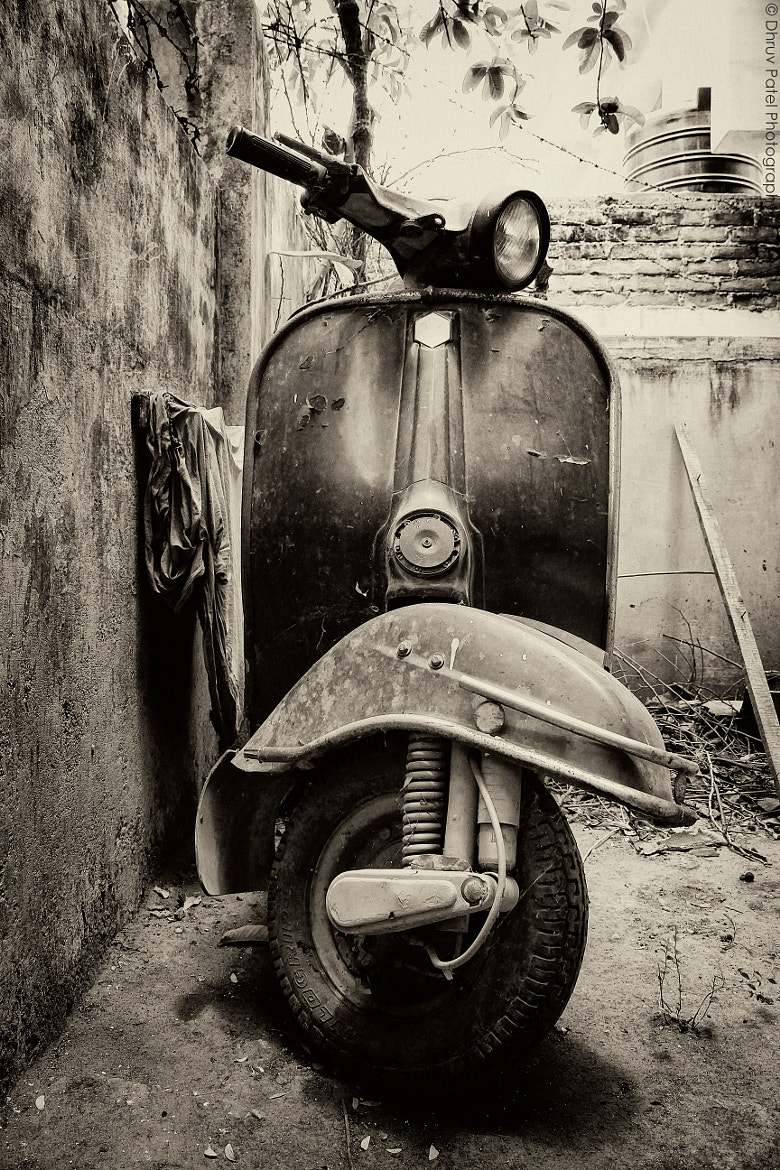 Photograph Vintage Scooter 2 by Dhruv Patel on 500px