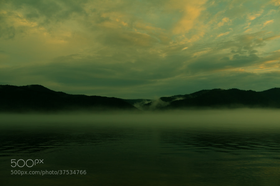 Photograph Fog over Lake Baikal by Dima Ave on 500px