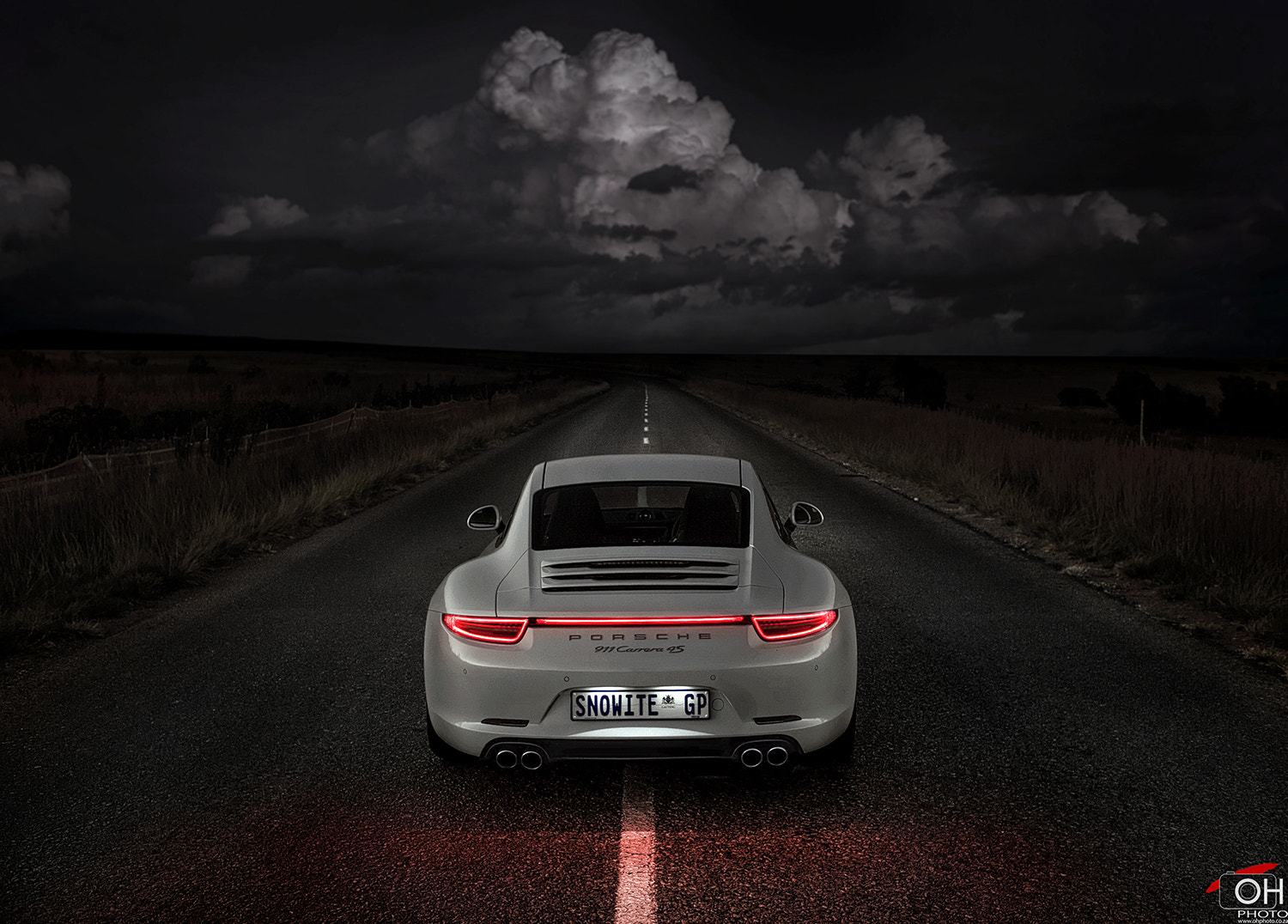 Photograph Porsche 911 Heading Into Doom by Oliver H on 500px