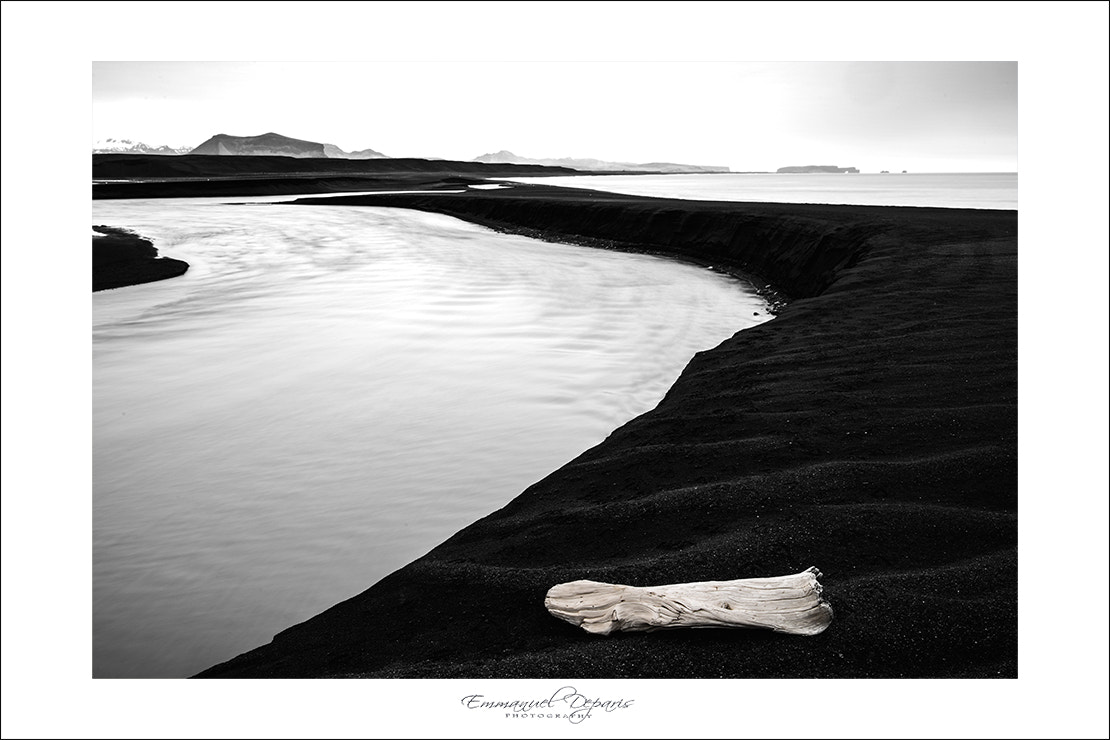 Photograph alone on the beach by Emmanuel Deparis on 500px