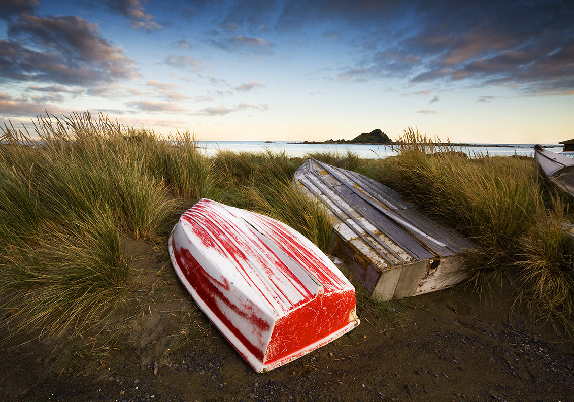 Photograph The Dinghies by David Arthur on 500px