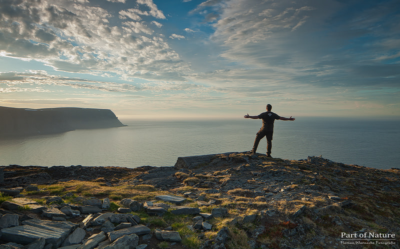 Photograph North Cape - Spirit of freedom by Florian Warnecke on 500px