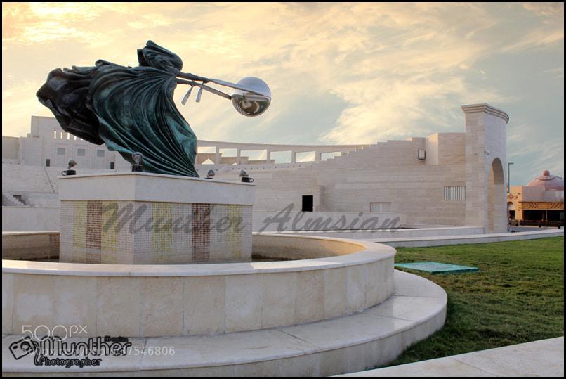 Photograph المسرح الروماني - كتارا - قطر  by munther Almsian on 500px