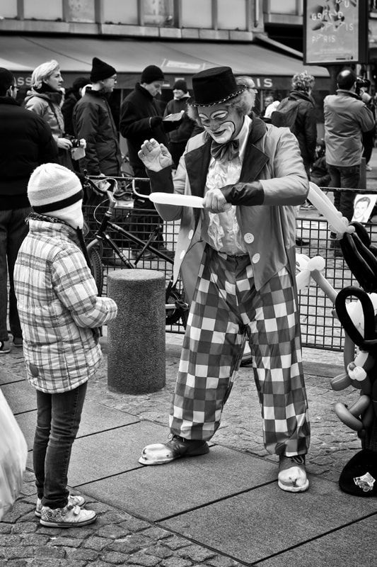 Photograph Clown by patrick plazzi on 500px