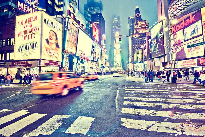Photograph Times Square by Laura BC on 500px
