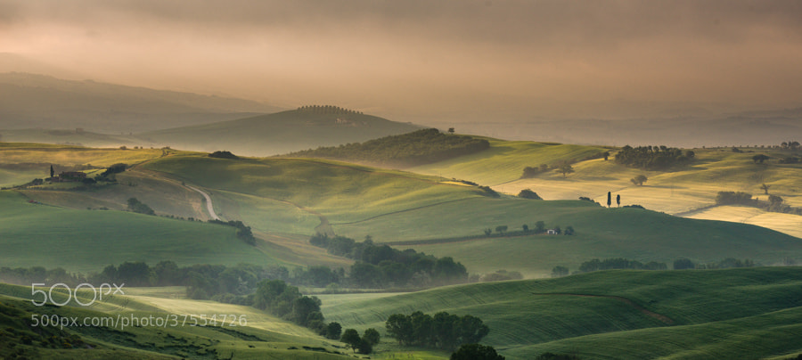 Photograph Tuscan Landscape by Hans Kruse on 500px