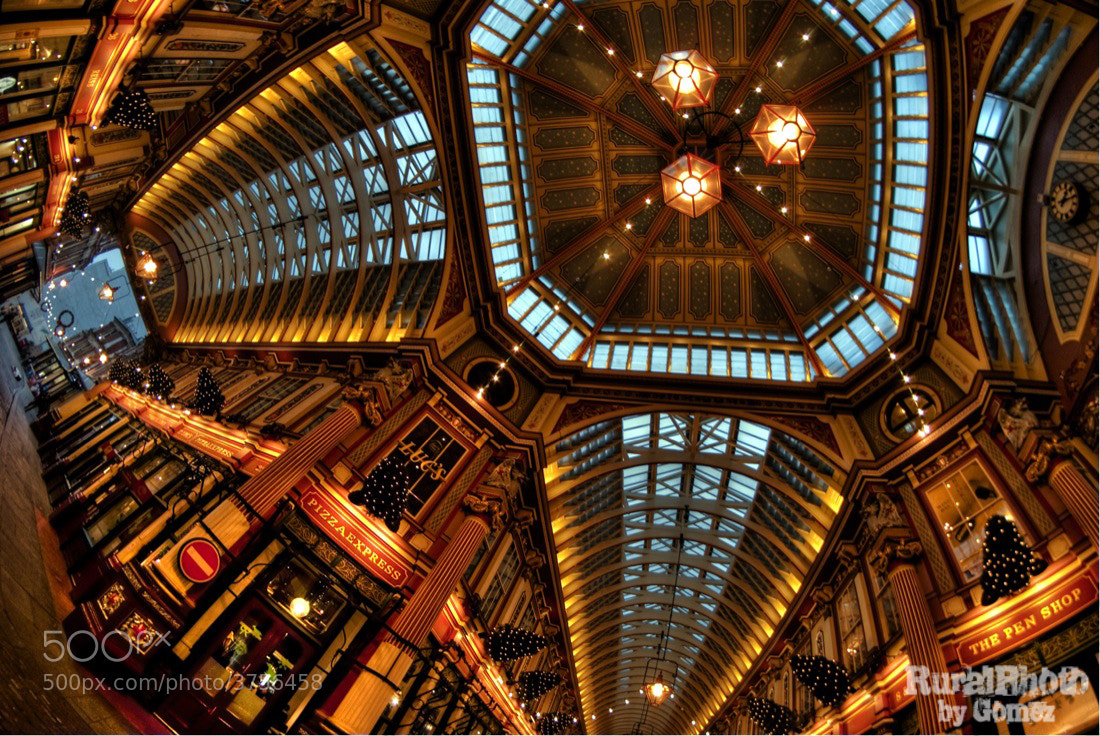 Photograph Leadenhall Market (London) by Miguel Angel Gomez Rando on 500px