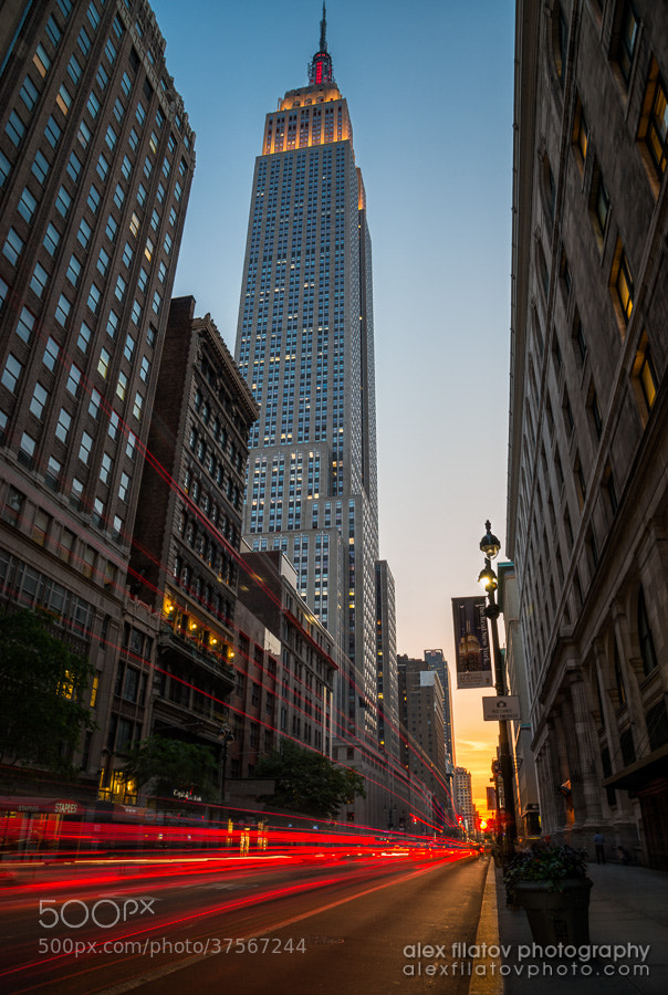 Photograph Manhattanhenge at 34th Street by Alex Filatov | alexfilatovphoto.com on 500px