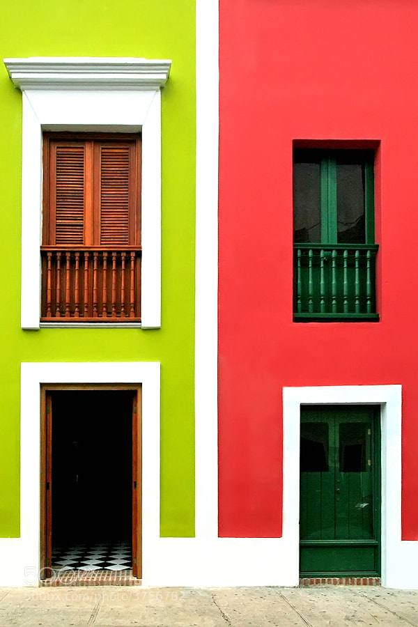 Photograph The Colors of San Juan by Carlos Gotay on 500px