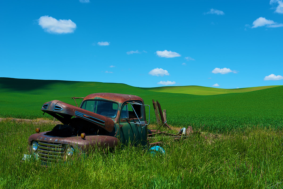 Photograph Palouse Ford by David Kosmos Smith on 500px