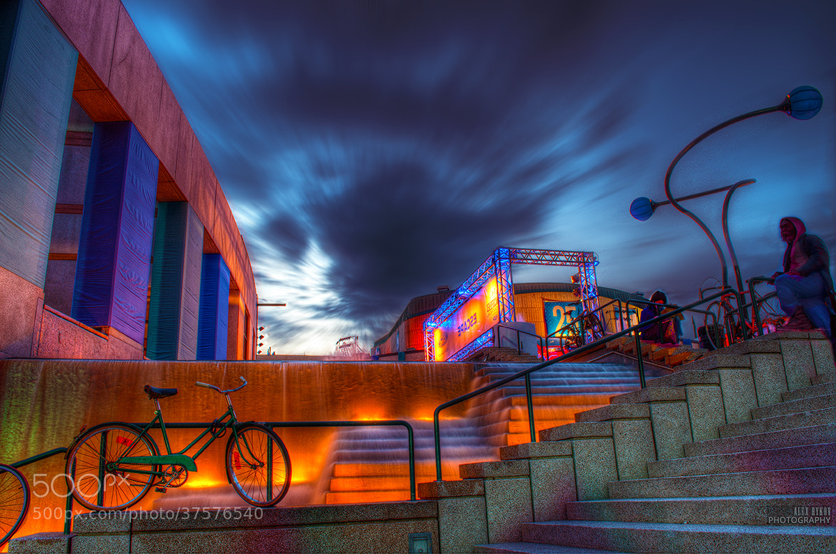 Photograph Place des arts by Alex Rykov on 500px