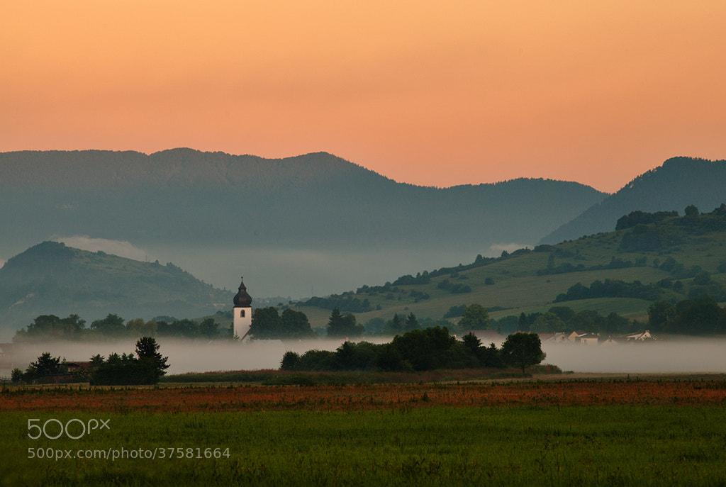 Photograph The church in Liptovska Tepla village by Martin Sprušanský on 500px