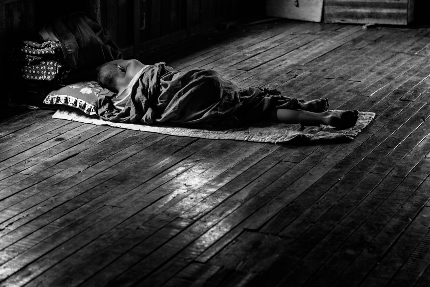 Photograph Sleeping Monk by Anthony Pond on 500px