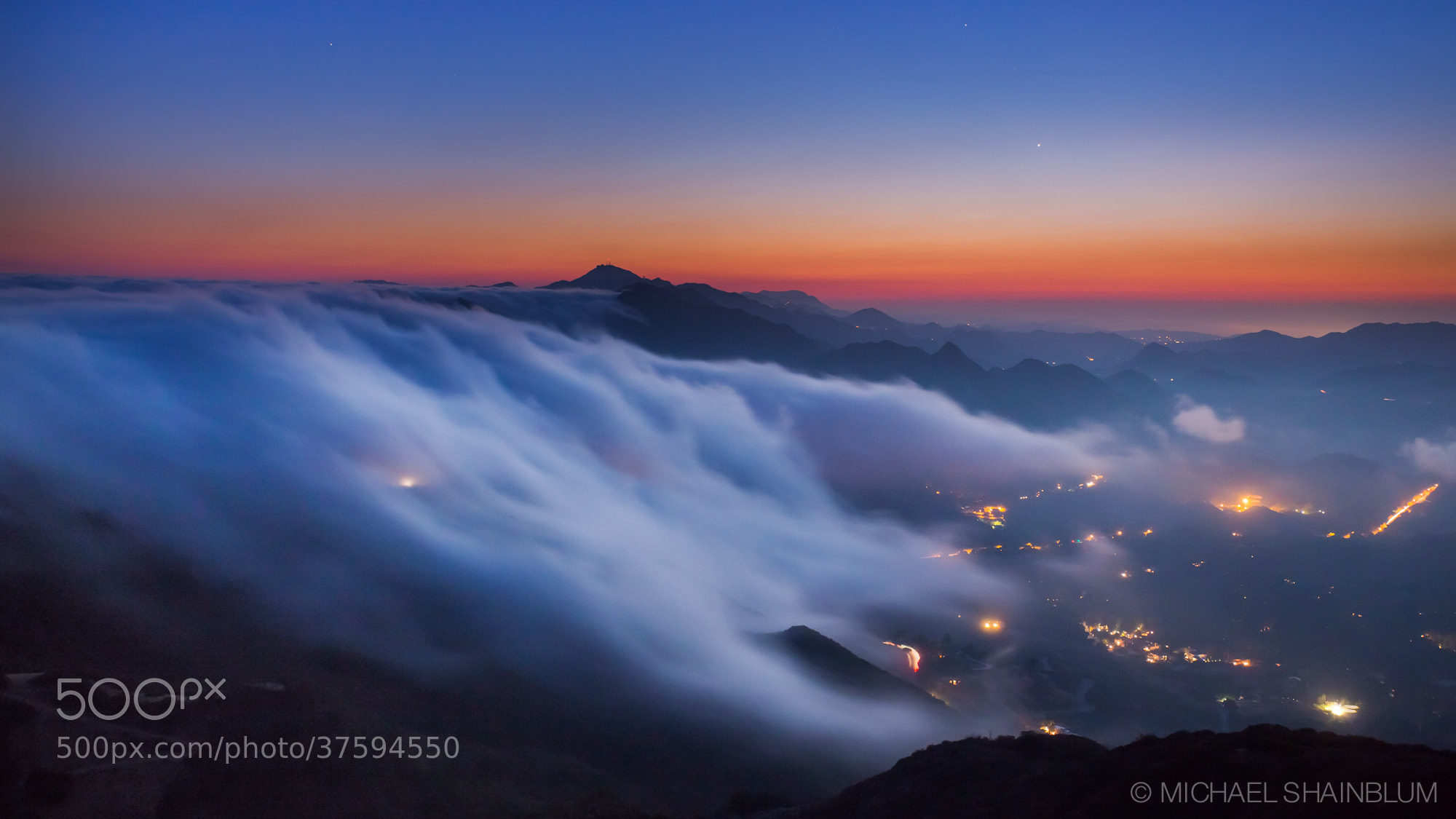Photograph Cloud Waterfall by Michael Shainblum on 500px