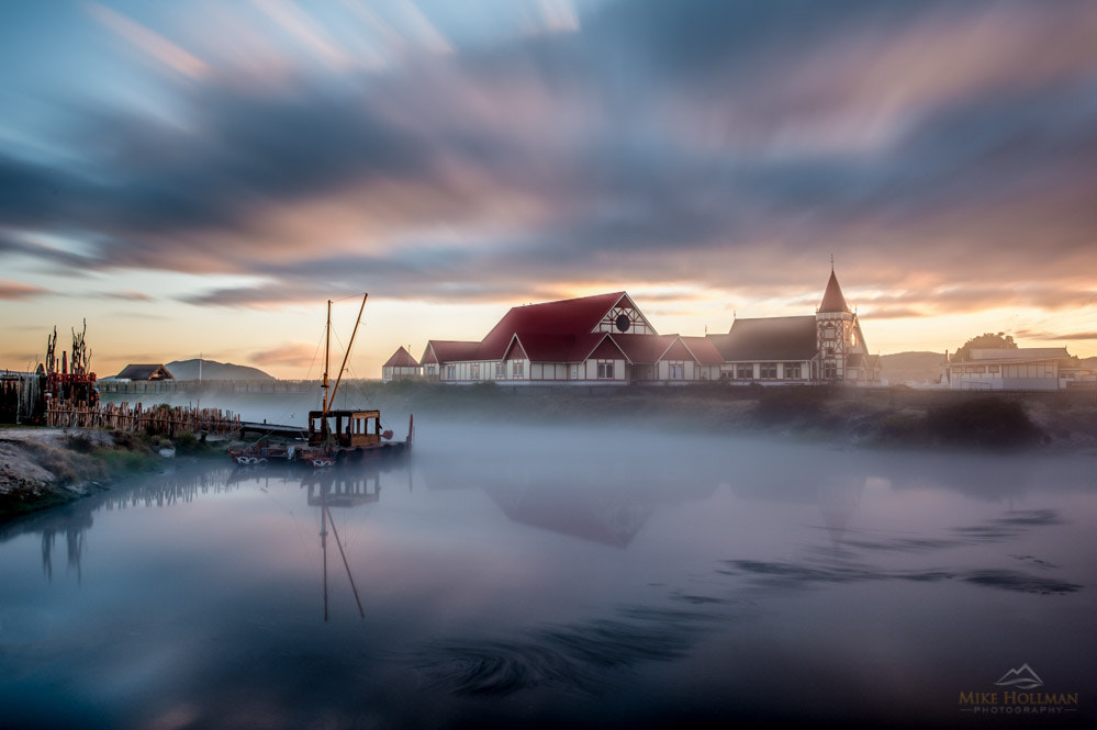 Photograph Church in the Mist by Mike Hollman on 500px