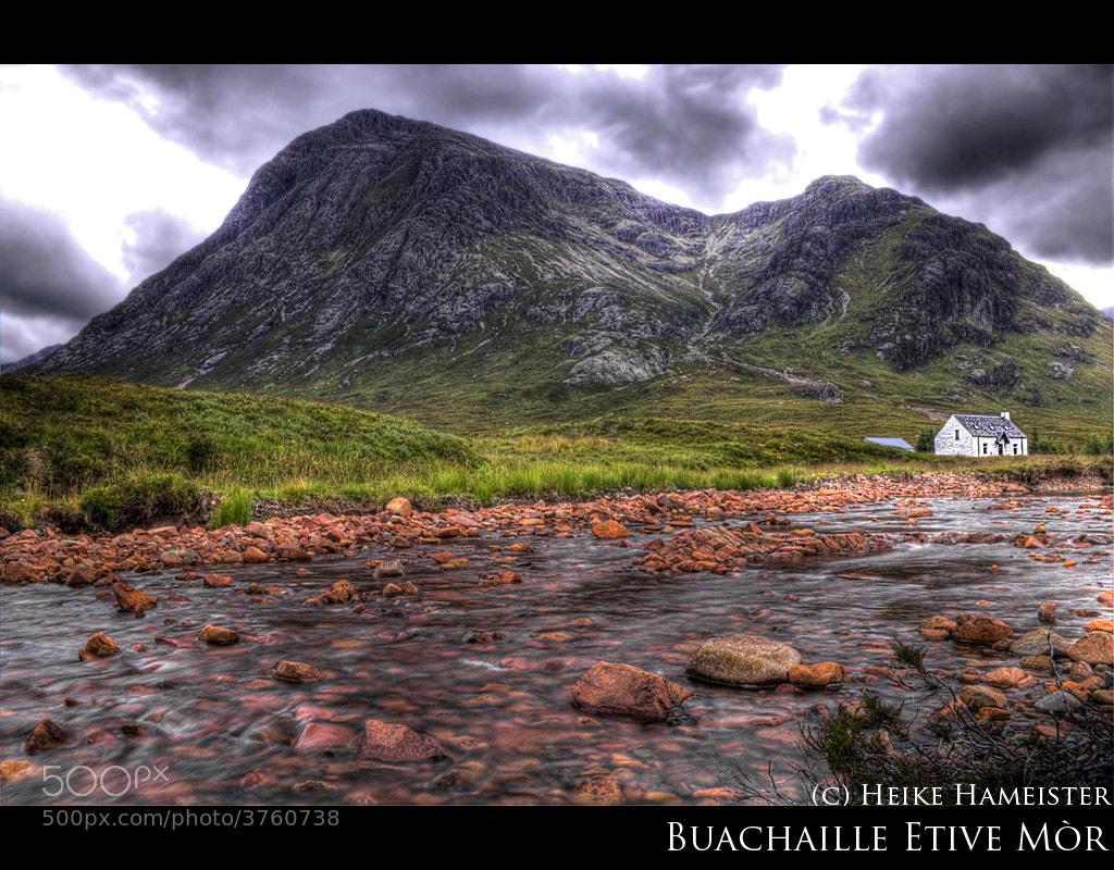 Photograph Buachaille Etive Mór by Heike Hameister on 500px