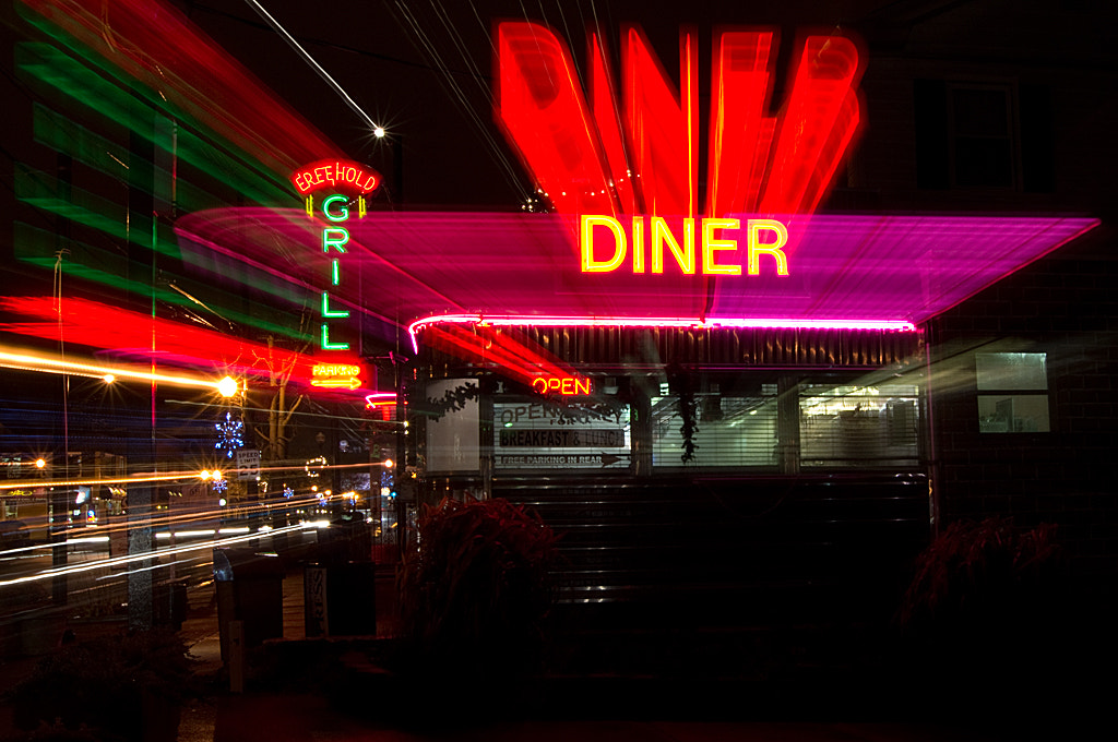 Photograph Diner by Dave Rogers on 500px