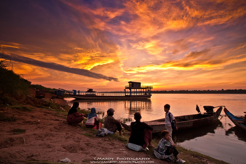 Photograph People are waiting for the ferry in the morning!  by Mardy Suong Photography on 500px