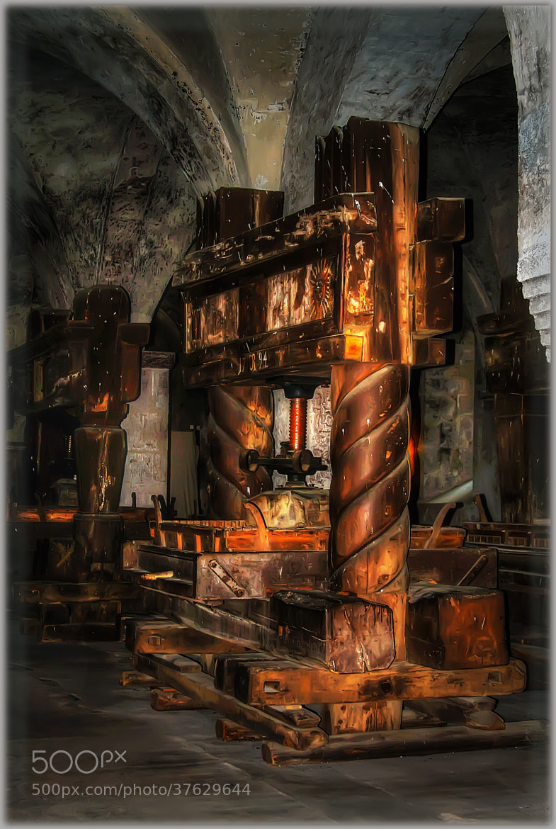 Photograph Wine Press - Eber by Gene  Brooking on 500px