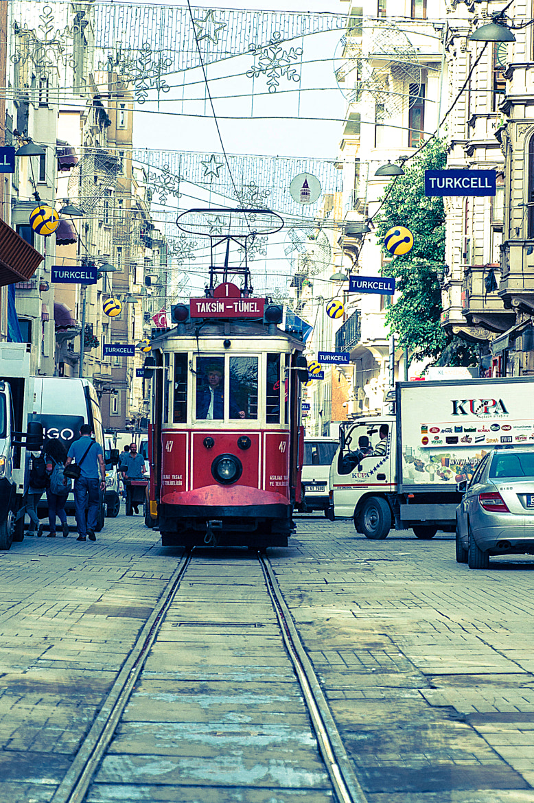 Photograph İstiklal Avenue / İstiklâl Caddesi by Aleksey Sagan on 500px