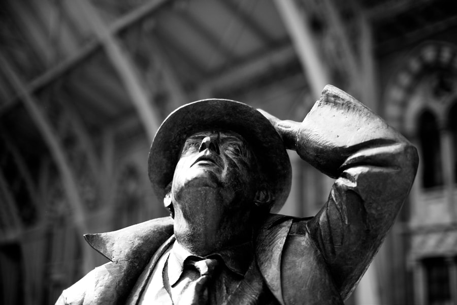 St Pancras - Sir John Betjeman
