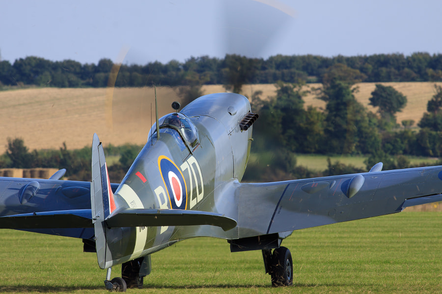 Spitfire - Ready for Takeoff