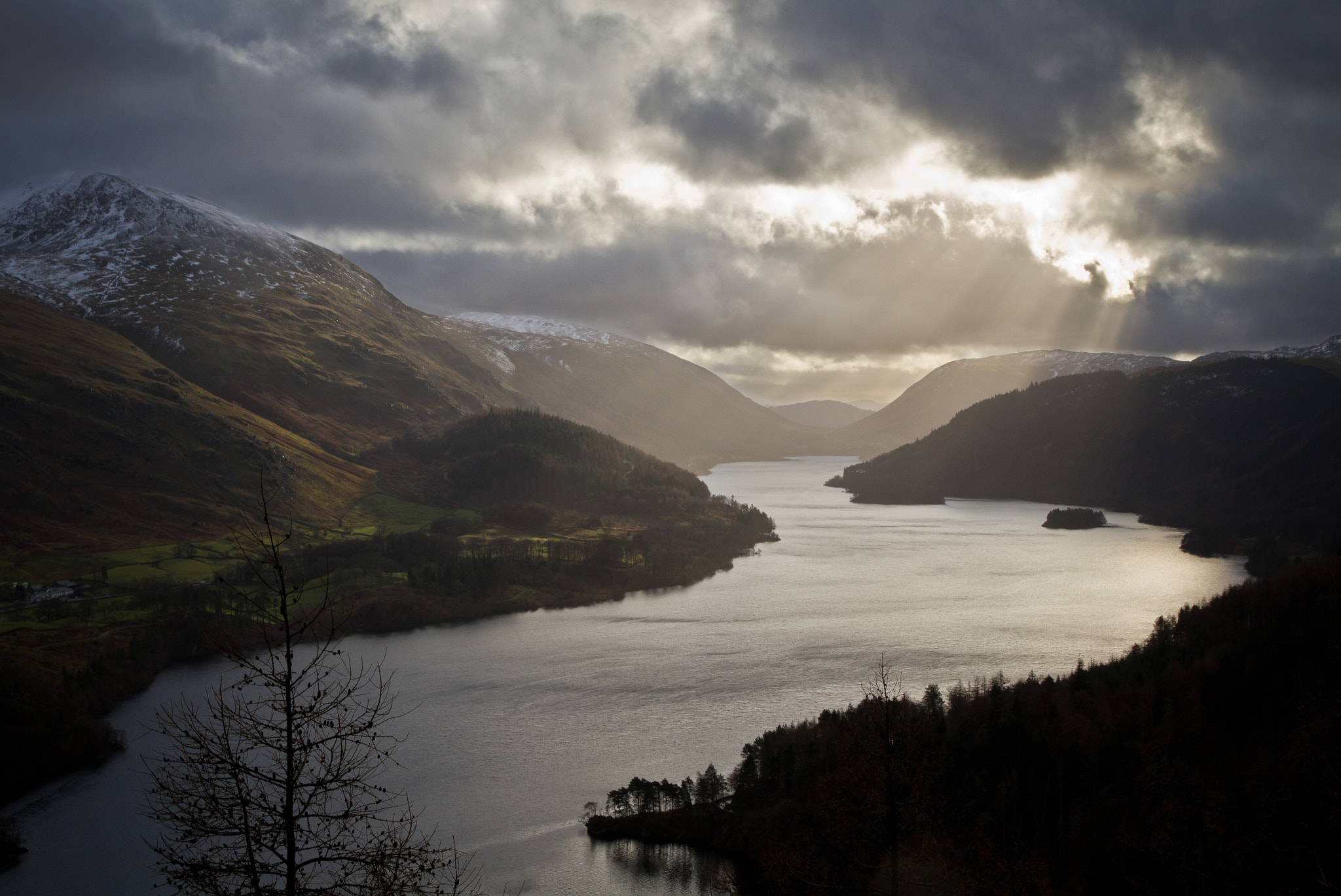 Photograph Wintery Lake District by James Hicks on 500px