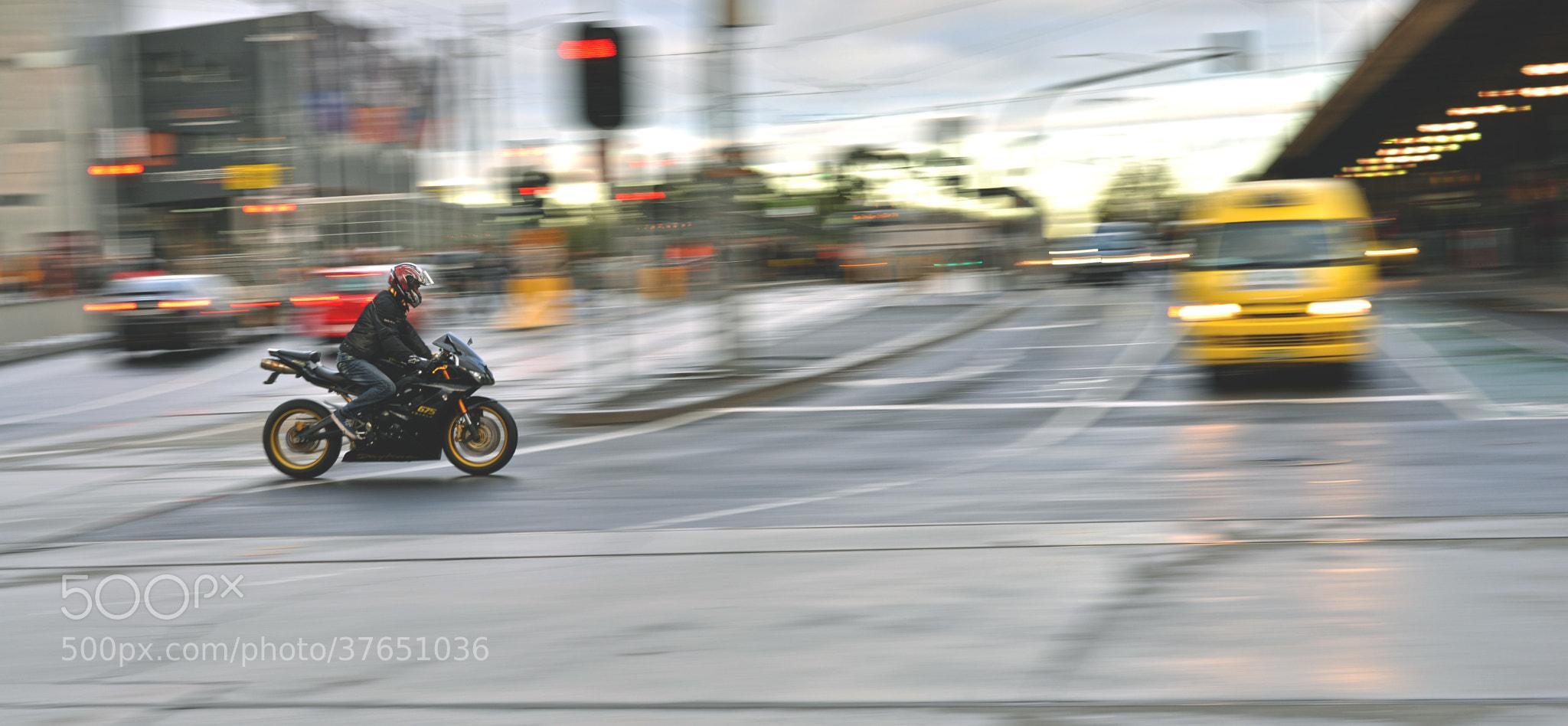 Photograph Biker by Tu Bui  on 500px