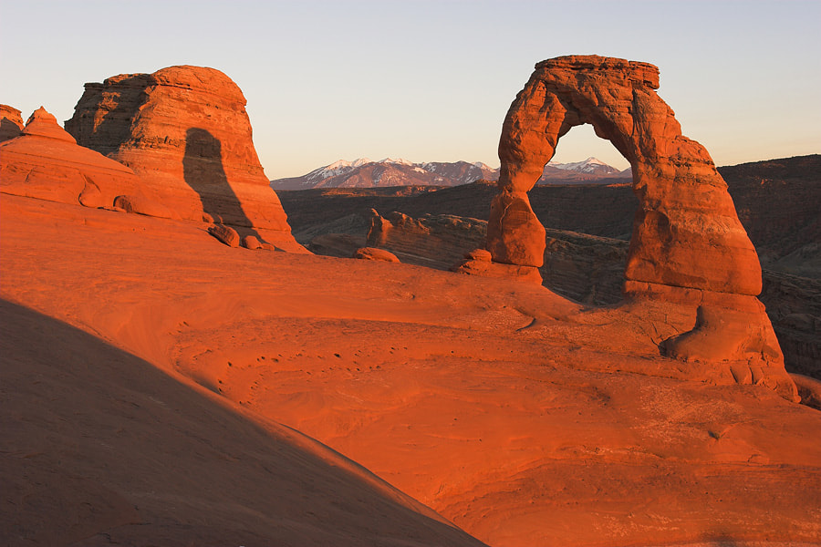 Photograph Delicate Arch Sunset by Bill Langton on 500px