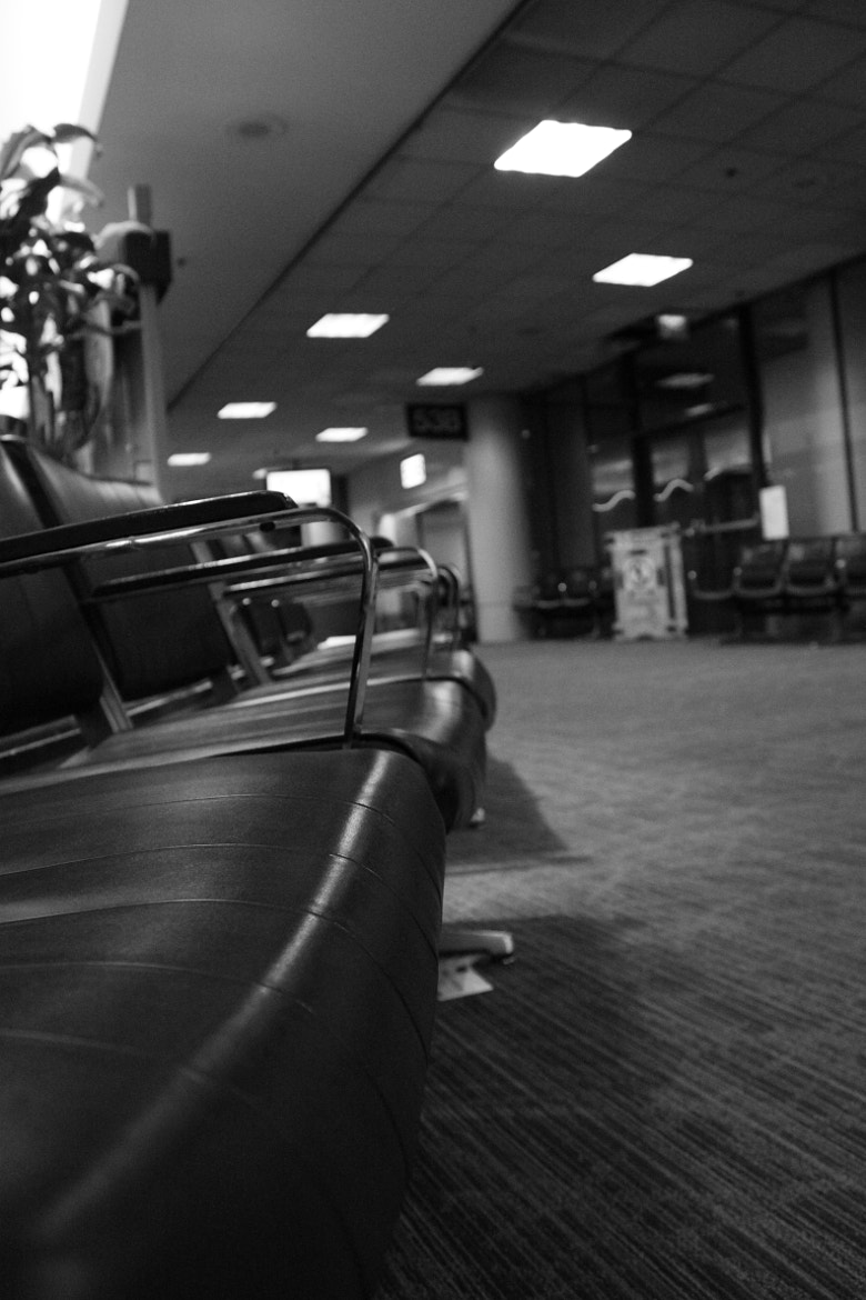 Photograph Sitting in an airport. by John Pletting on 500px