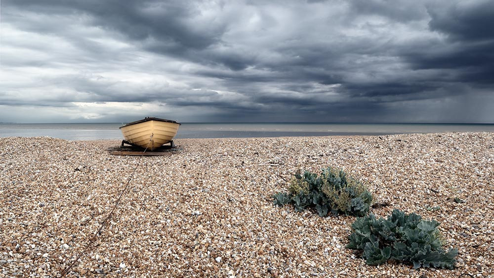Photograph Fishing boat on the beach at Dungeness. by Tony  on 500px